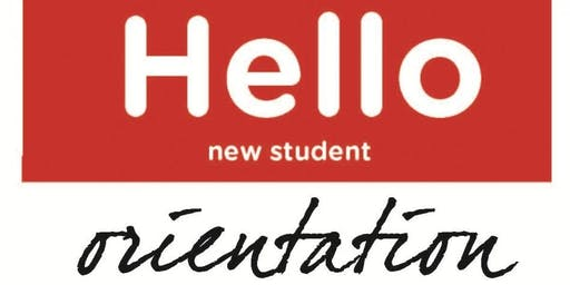New International Student Make-Up Orientation