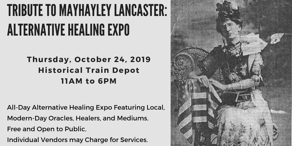 Alternative Healing Expo Tribute To Mayhayley Lancaster