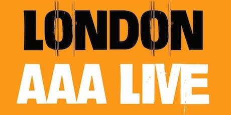 Glenn Munson - London AAA Live tickets