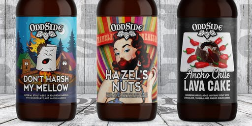 Hazel's Nuts release along with Barrel Tasting of up coming beers - 11:00am