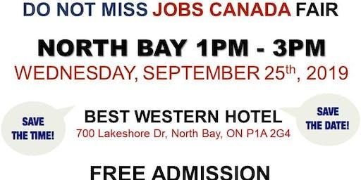 North Bay Job Fair – September 25th, 2019