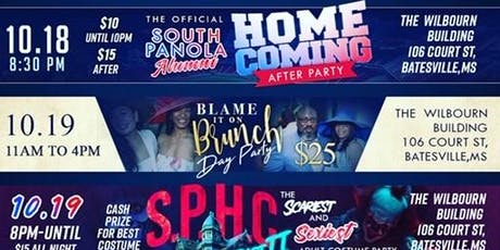 S & F Entertainment Present : SPHC 2K19 Weekend Bundle ( $50 ACCESS TO EVERY EVENT 10/18 -10/20 ) (CLICK HERE) tickets