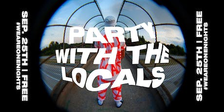 One Night: Party with the Locals Volunteers tickets