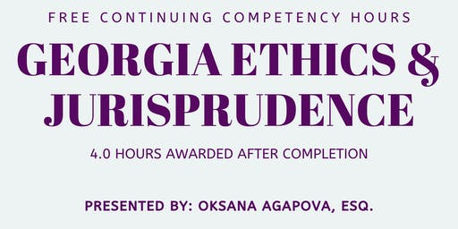 Georgia Ethics & Jurisprudence Course