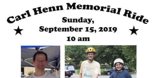 Carl Henn Memorial Ride