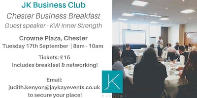 JK Business Club Chester Breakfast
