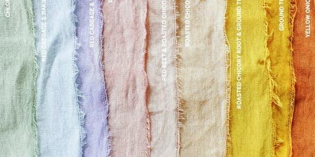 Dyeing of Textiles (Naturally) tickets