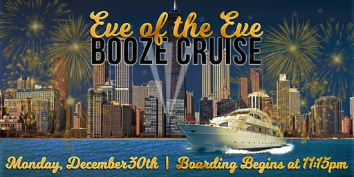 Yacht Party Chicago's Eve of the Eve Booze Cruise aboard Spirit of Chicago
