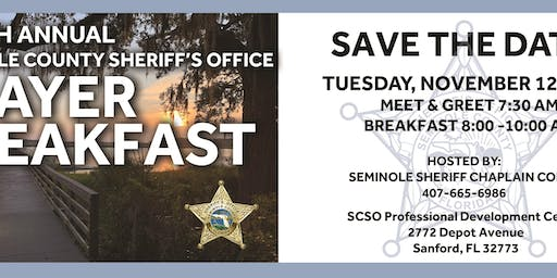 Seminole County Sheriff's Office 8th Annual Prayer Breakfast