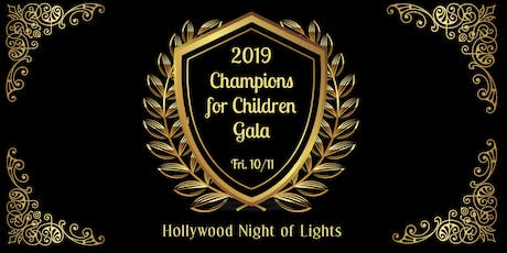 2019 Champions for Children Gala tickets