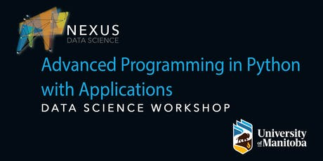 Advanced Programming in Python with Applications  tickets