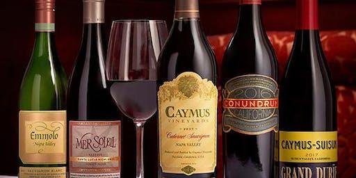 Caymus Wine Dinner Atlantic City