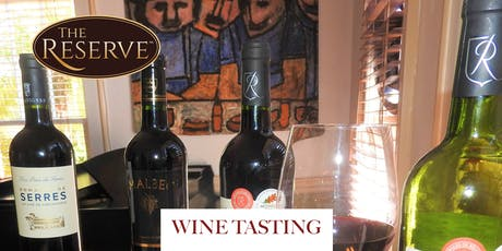 September Wine Tasting at The Reserve tickets