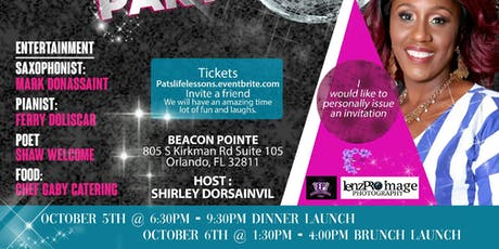 Pats Life Lessons and Journey  of Change Magazine Launch tickets
