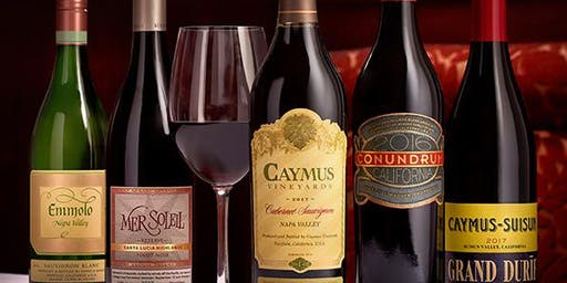 Caymus Wine Dinner Durham