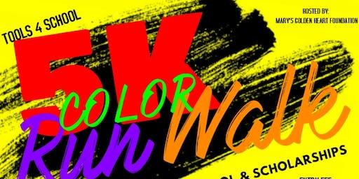 Tools 4 School 5K Color Run/Walk