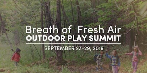 Breath of Fresh Air - Outdoor Play Summit