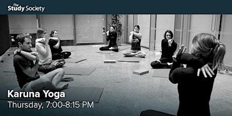 Karuna Yoga with Amanda Fawcett – The Study Society tickets