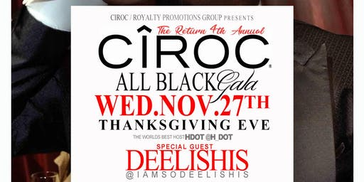 The Ciroc All Black Gala Returns