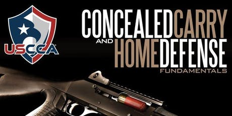 USCCA Concealed Carry and Home Defense Fundamentals tickets