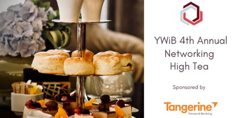 YWiB 4th Annual Networking High Tea - Sponsored by Tangerine tickets