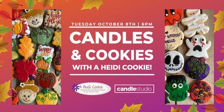 Candles & Cookies by A Heidi Cookie! tickets