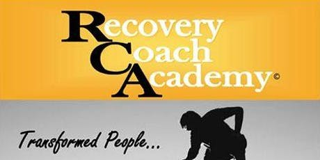 Recovery Coach Academy Training tickets