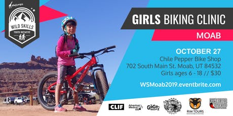 Wild Skills Girls Biking Clinic at the Chile Pepper Ho Down tickets