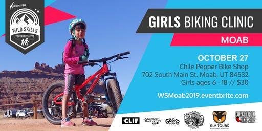 Wild Skills Girls Biking Clinic at the Chile Pepper Ho Down