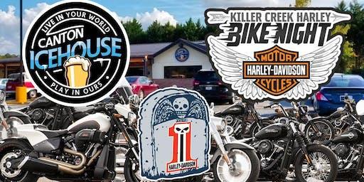 KCHD Bike Night at Canton Icehouse!