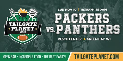Resch Center VIP Tailgate – Packers vs. Panthers