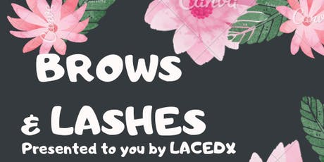 LacedX BROWS & LASHES class tickets
