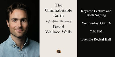 The Uninhabitable Earth: Life After Warming with David Wallace-Wells tickets