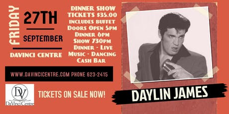 Daylin James Dinner Show tickets