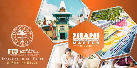 City of Miami - Open House for Residents on Affordable Housing Master Plan Draft  tickets