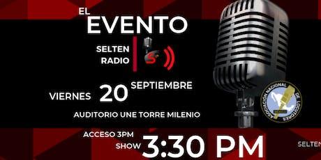 Evento Selten Radio entradas
