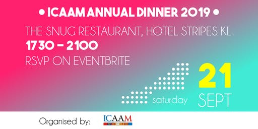ICAAM Annual Dinner 2019