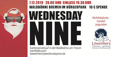 Jingle Bell Rock - Charity Concert - Wednesday Nine playing for Löwenherz