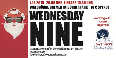 Jingle Bell Rock - Charity Concert - Wednesday Nine playing for Löwenherz Tickets