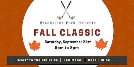 Fall Golf Classic tickets