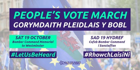 Peoples Vote March - Let Us Be Heard tickets