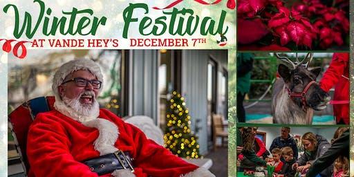 Winter Festival at Vande Hey's