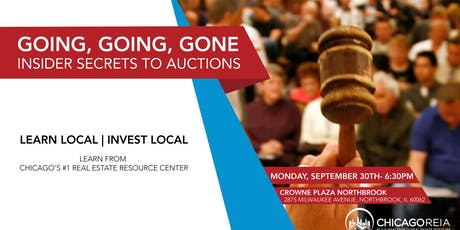 Going, Going, Gone- Insider Secrets to Auctions tickets