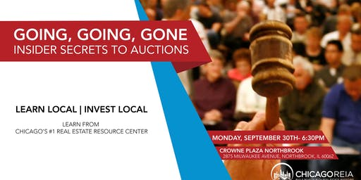 Going, Going, Gone- Insider Secrets to Auctions