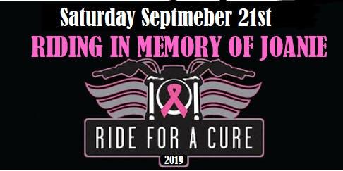 2nd Annual Forever Joanie Strong Bike Run