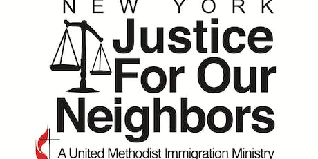 New York Justice for Our Neighbors 20th Anniversary Gala tickets