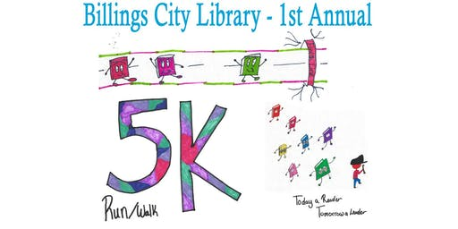 1st Annual Billings City Library 5k