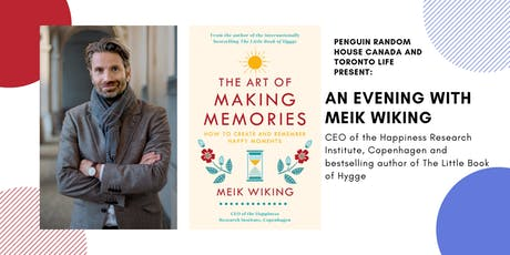 Penguin Canada and Toronto Life present an evening with Meik Wiking tickets