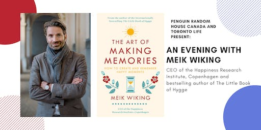 Penguin Canada and Toronto Life present an evening with Meik Wiking