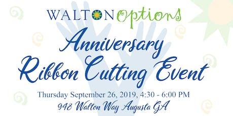 Walton Options Anniversary Ribbon Cutting tickets